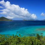 Sailing From Puerto Rico to St. Thomas in the Caribbean
