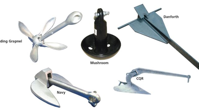 Best Types of Sailboat Anchors