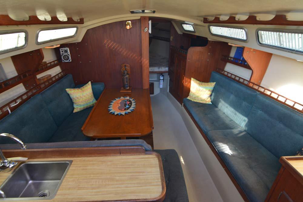 Catalina 30 Interior