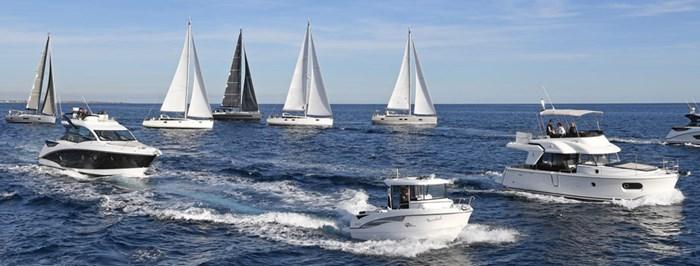 beneteau and jeanneau sailboats and power boats