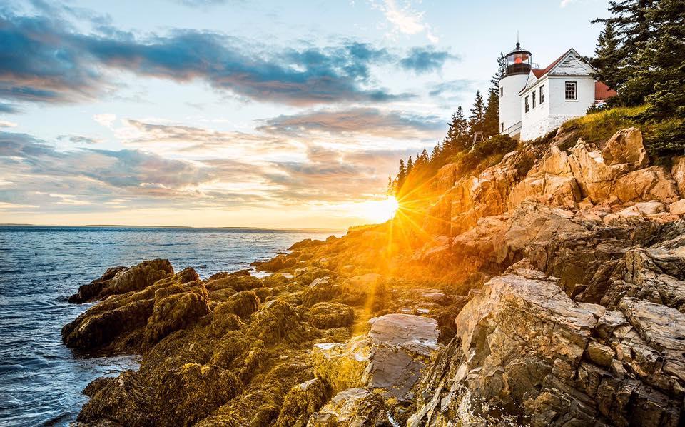 Mt Desert Island Maine USA for Sailing