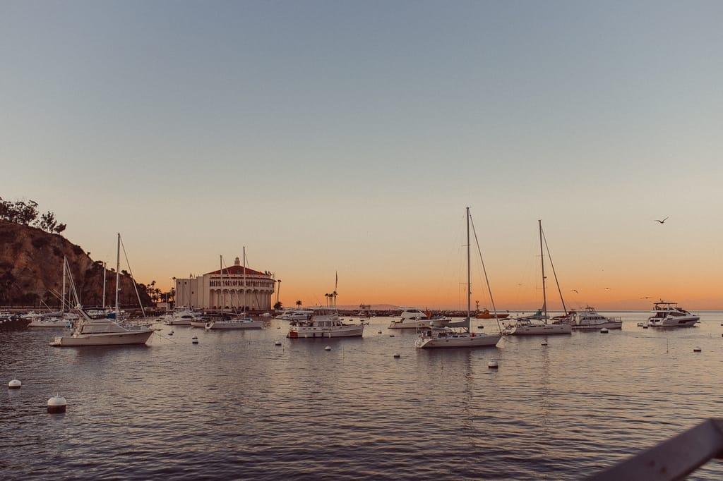 Santa Catalina Island, California Sailing